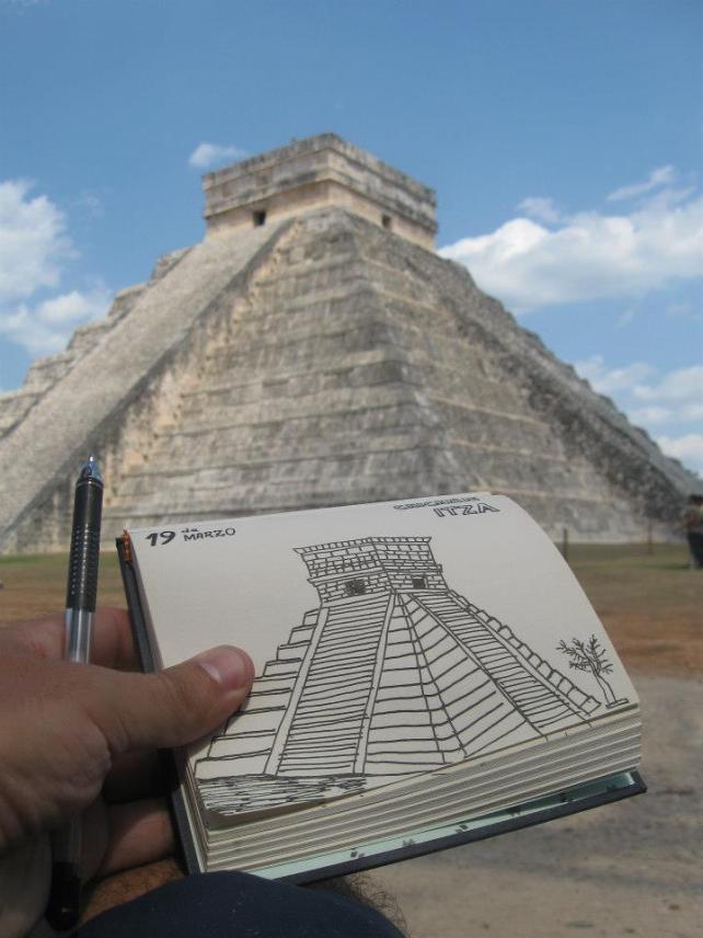 Pirámide Chichién Itzá (México)