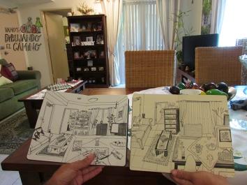 dibujando casa vdc