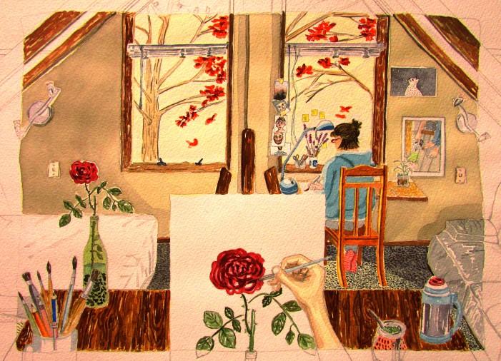 Pintura 2 Flor