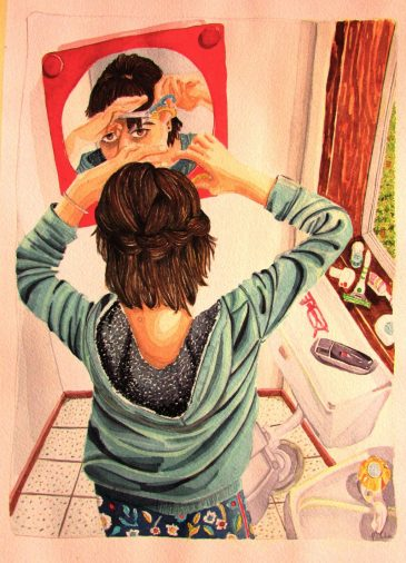 Pintura 3 - Corte de Pelo