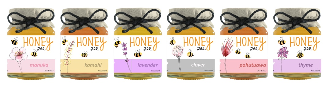 Honey-lavender-farm-label