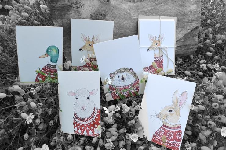 postcards christmas WEB72