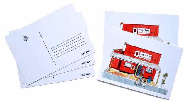 Postcards-Peppatree