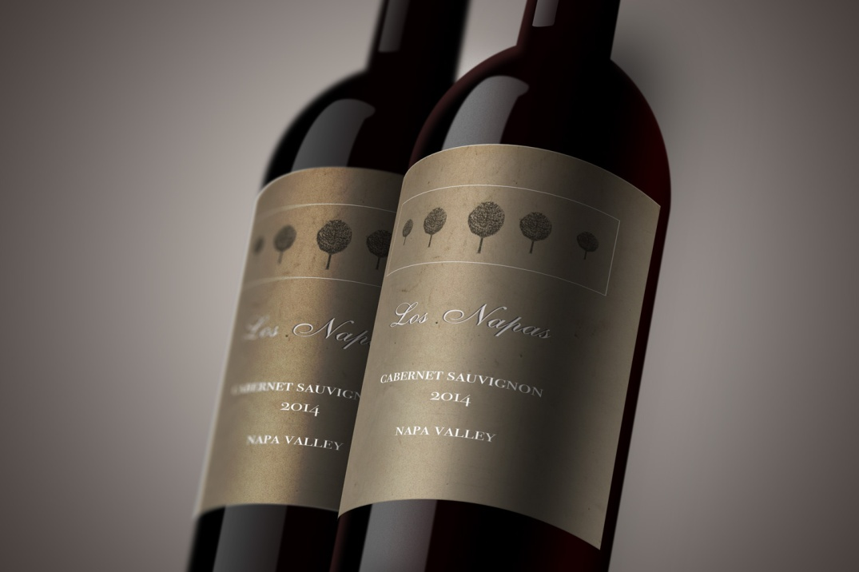 wine-bottle-label-mockup